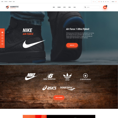 Shoe Store Responsive PrestaShop шаблон
