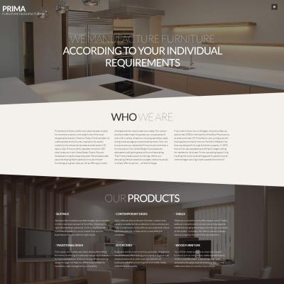 Template per siti di interni template per siti di for Siti design interni