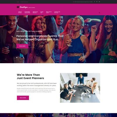 Event Planner Responsive WordPress Theme
