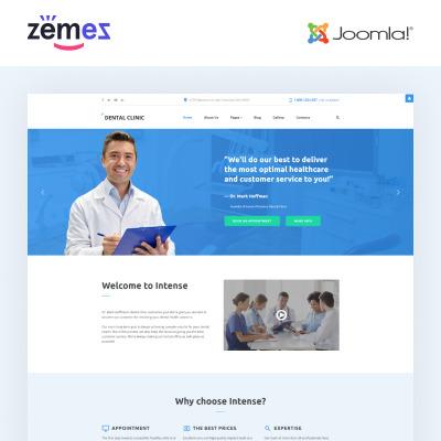 Dentistry Responsive Joomla šablona