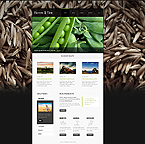 Agriculture Website  Template 40101