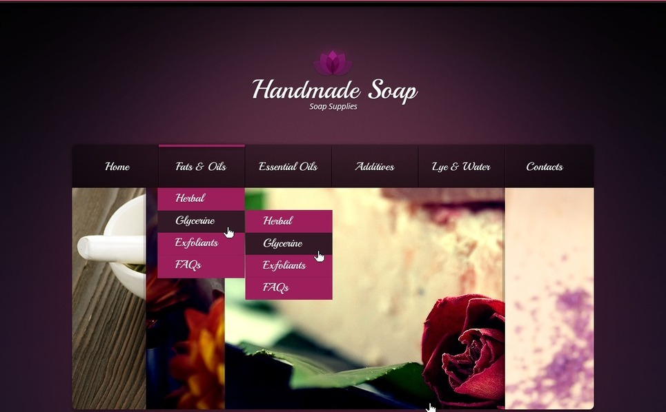 Template Web para Sites de Artesaniais №40102 New Screenshots BIG