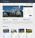 Real Estate Website  Template 40107