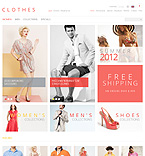 Fashion ZenCart  Template 40118