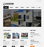 Architecture Website  Template 40123