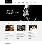 Law Website  Template 40125