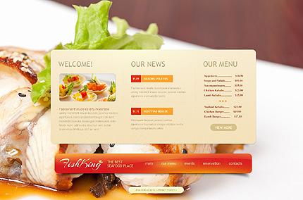 Template 40130 ( Our menu Page ) ADOBE Photoshop Screenshot