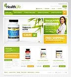 Medical osCommerce  Template 40137