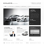 Cars Website  Template 40140