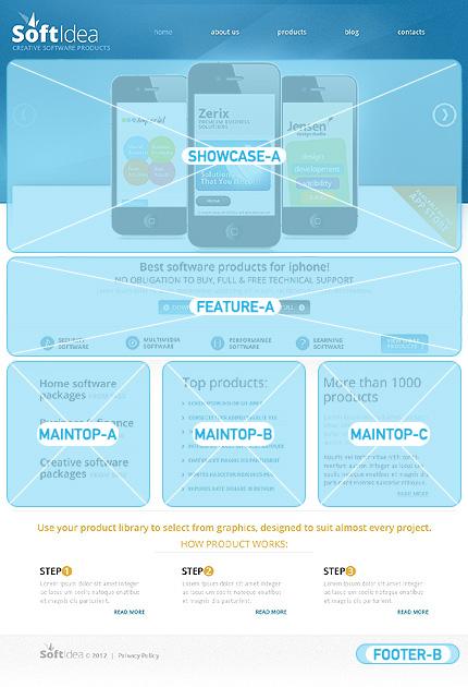 Joomla Theme/Template 40144 Main Page Screenshot