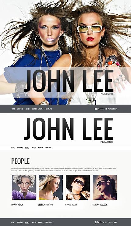 ADOBE Photoshop Template 40148 Home Page Screenshot
