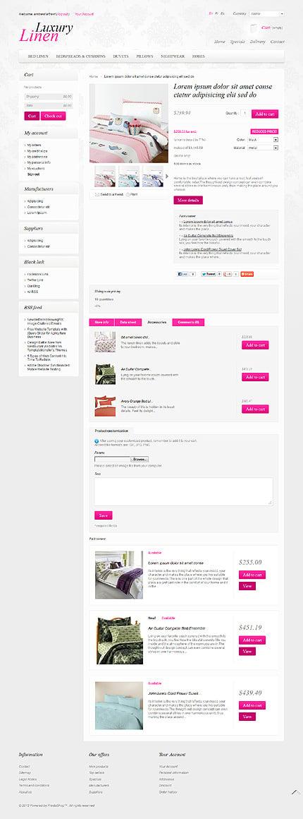 ADOBE Photoshop Template 40153 Home Page Screenshot