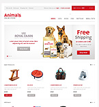 Animals & Pets OpenCart  Template 40157