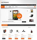 Electronics OpenCart  Template 40158