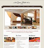 Hotels Website  Template 40169