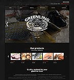 Food & Drink Website  Template 40171