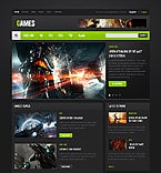 Games Website  Template 40172