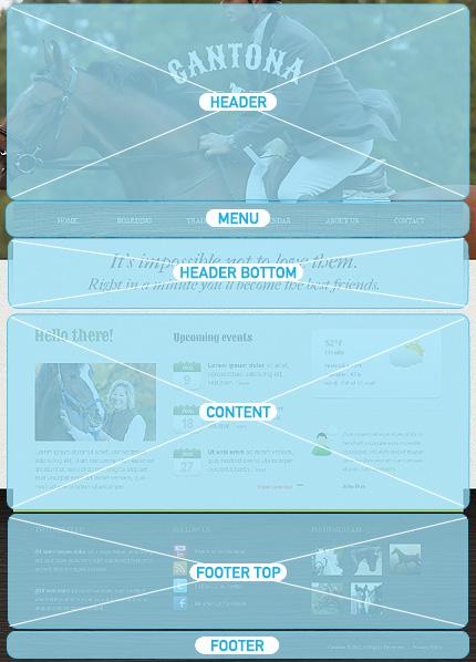 Drupal Template 40193 Main Page Screenshot