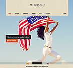 Politics Website  Template 40194