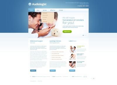 Modèle Web  pour site médical