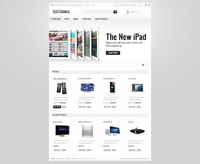 Electronics Store ZenCart šablona
