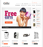 Gifts OpenCart  Template 40223