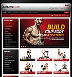 Sport OpenCart  Template 40226