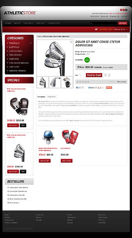 ADOBE Photoshop Template 40226 Home Page Screenshot