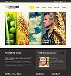 Agriculture Website  Template 40229