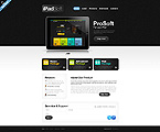 Software Website  Template 40231