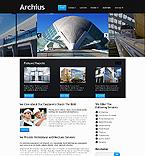 Architecture Website  Template 40232