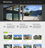 Real Estate Website  Template 40236