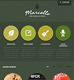 Web design Facebook  Template 40251