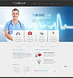 Medical Website  Template 40265