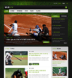 Sport Website  Template 40267