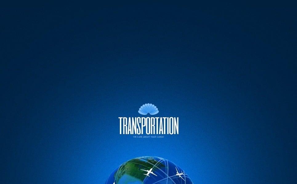 Szablon Strona Www #40268 na temat: transport New Screenshots BIG