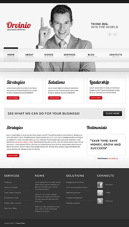 Joomla Theme/Template 40270 Main Page Screenshot