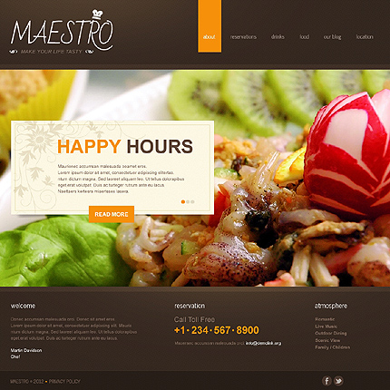 Joomla Theme/Template 40271 Main Page Screenshot