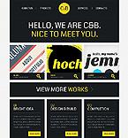 Web design Website  Template 40281