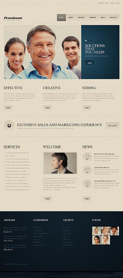 Joomla Theme/Template 40283 Main Page Screenshot