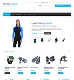 Sport OpenCart  Template 40285
