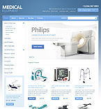 Medical OpenCart  Template 40286