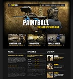 Sport Website  Template 40291