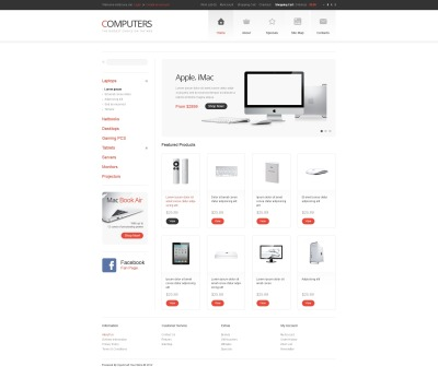 Computer Store OpenCart Template