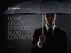 Security Website  Template 40303