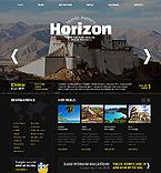 Travel Website  Template 40304