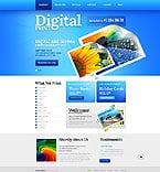 Art & Photography Website  Template 40305