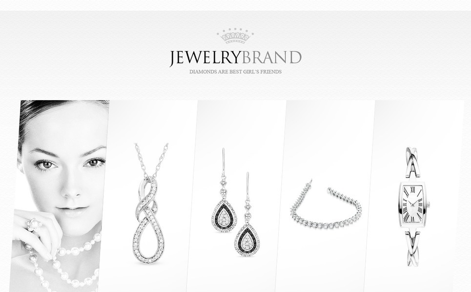 Website Vorlage für Schmuck  New Screenshots BIG