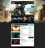 Games Website  Template 40313