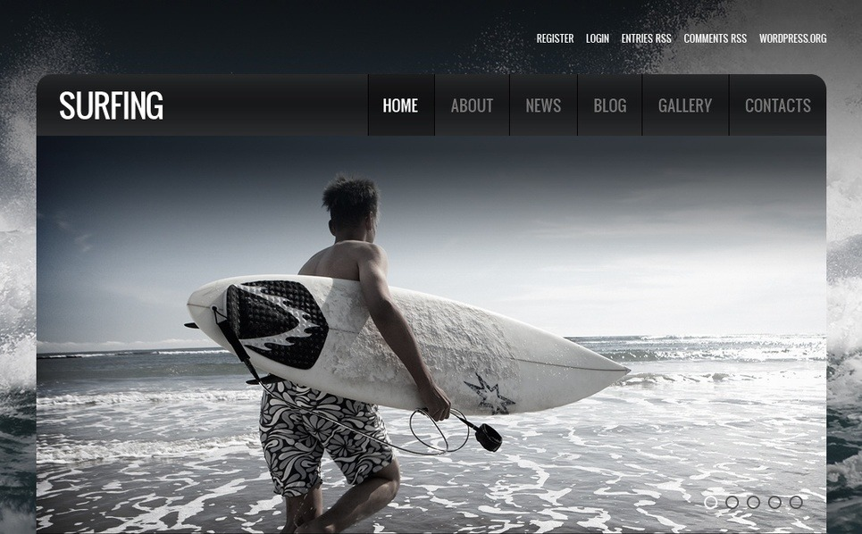 Template Moto CMS HTML para Sites de Surfe №40323 New Screenshots BIG